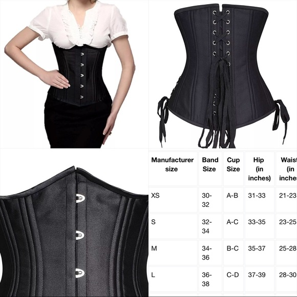 286926ccf8 camellias Other - Camellias double boned waist trainer shaper corset